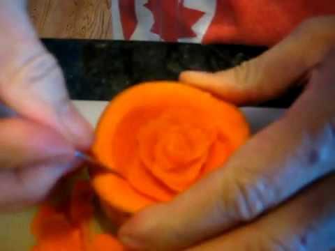 Hoa hồng tỉa khối.flv