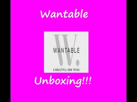 Wheelchair Wednesday! Wantable Beauty Unboxing!