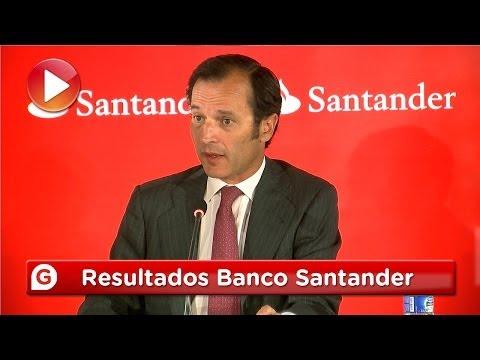 Presentación de resultados del Banco Santander