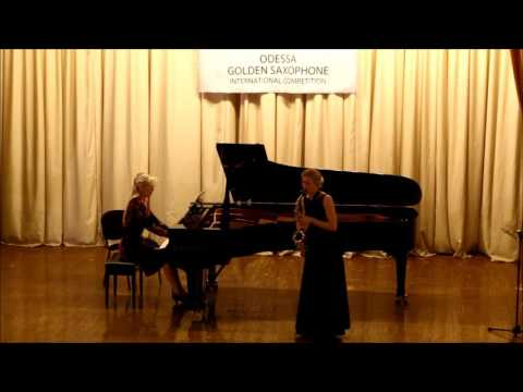 Golden Saxophone 2015 – -Dariya Nikitenko – J Demersseman – Fantasia