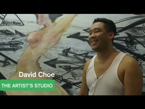 Artists Talk with Alia Shawkat and Lance Bangs -- David Choe - MOCAtv