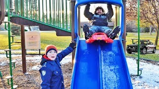 Where's the Snow? Sketchy decides to go sledding hilarious kids video