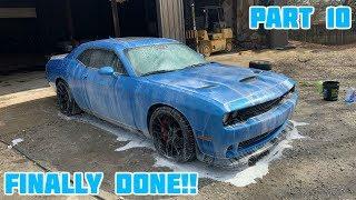 Rebuilding a Wrecked 2016 Dodge Hellcat Part 10
