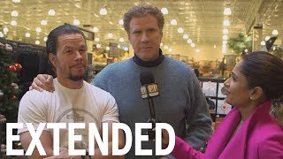 On Set Of 'Daddy's Home 2' With Will Ferrell, Mark Wahlberg | EXTENDED