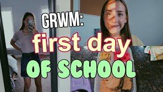 GRWM: FIRST DAY OF HIGH SCHOOL (FRESHMAN) | Lauren Evelyn