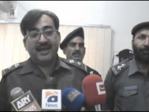 District Police Officer Nowshera [Muhammad Hussian Khan]