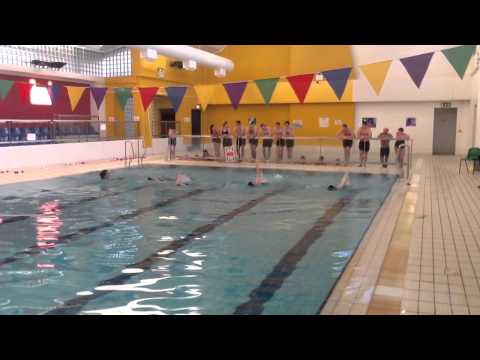 Synchronised Swimming Year 1 BA in Exercise and Health Studies (2)