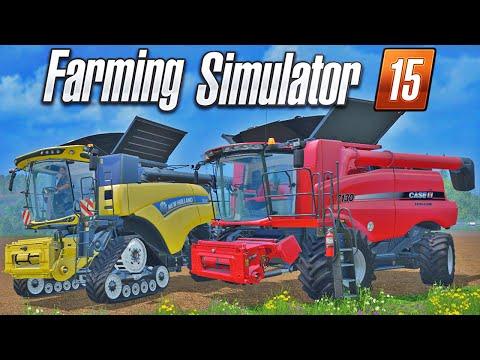 Farming Simulator 15 - Corrida de Colheitadeiras