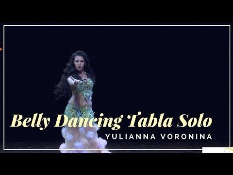 Amazing  Belly Dancing Tabla Solo HD Video - Yulianna Voronina - Belly Dance  💃