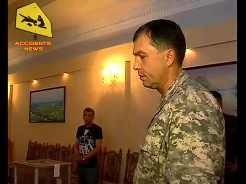 Valery Bolotov, People's governor Lugansk, survives assassination attempt 13.05.2014