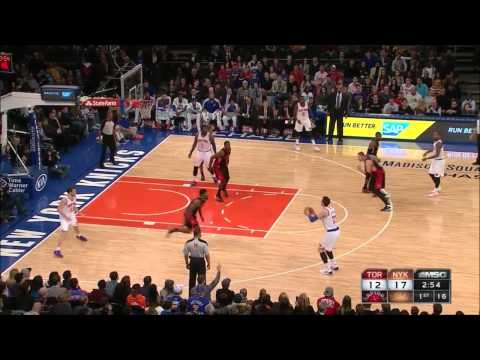 Andrea Bargnani - New York Knicks vs. Toronto Raptors (December 27, 2013)