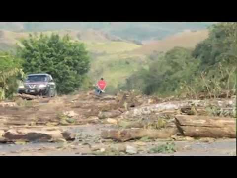 Silvia Carrera explica la lucha de los pueblos Ngäbe y Buglé