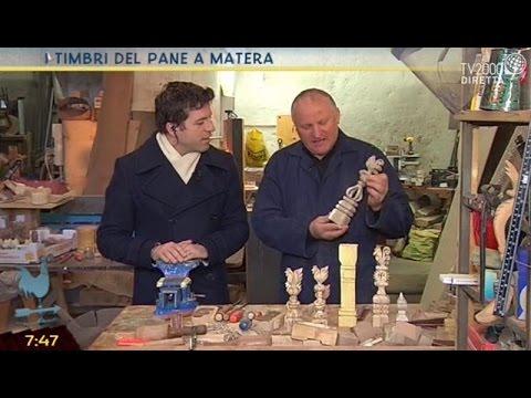 I timbri del pane a Matera