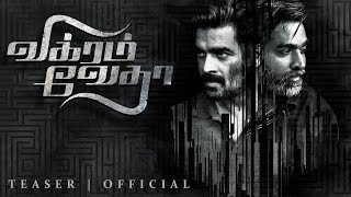 Vikram Vedha Movie Official Teaser - R Madhavan, Vijay Set..