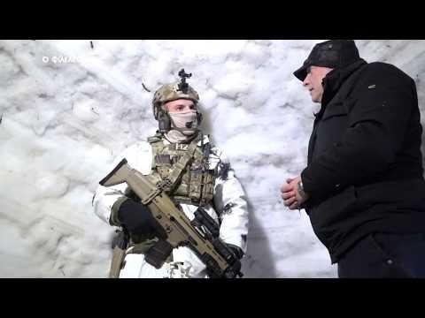 Καταδρομείς σε παιχνίδια πολέμου κι επιβίωσης στο χιονισμένο Τρόοδος