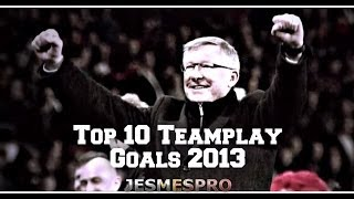 De tien mooiste 'teamplay' goals van Manchester United dit seizoen...