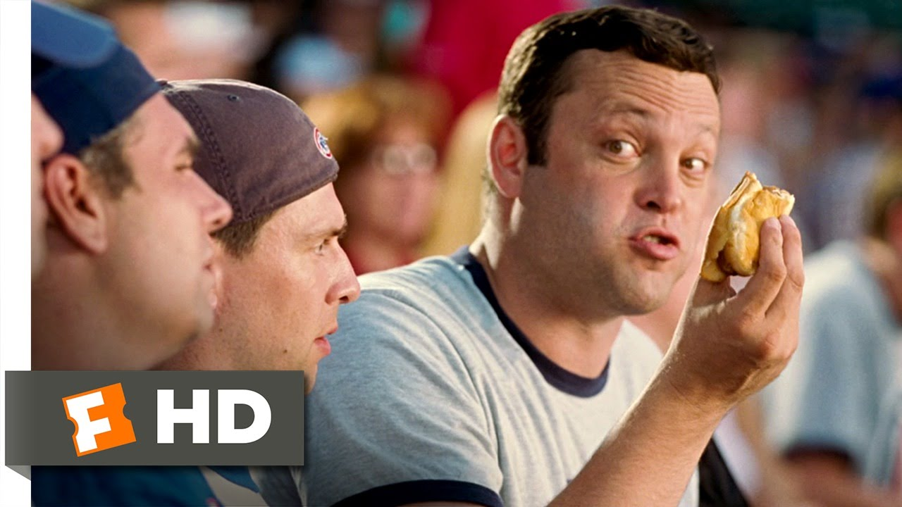 the breakup 110 movie clip ever had a hot dog 2006