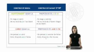 Aprende Valenciano. Lección 6