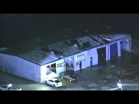 Raw: Tornado Damage in Broken Arrow, Oklahoma
