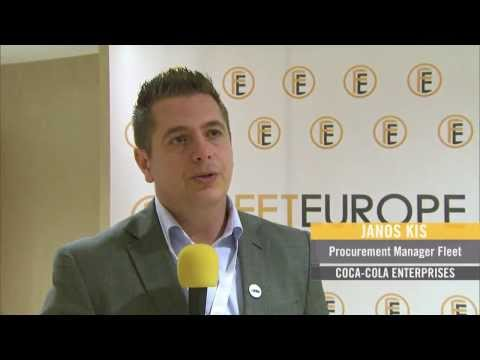 Fleet Europe Forum 2013: Janos Kis (Coca-Cola) on fleet management in Central & Eastern Europe