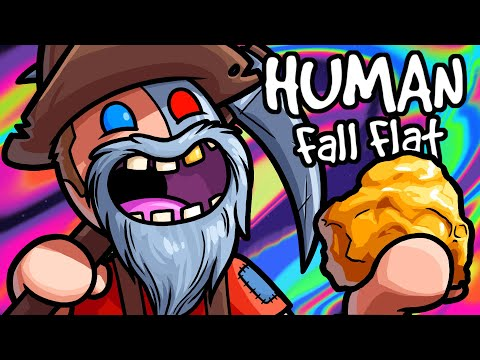 Human Fall Flat Funny Moments - Ending Winter and Finding Gold!