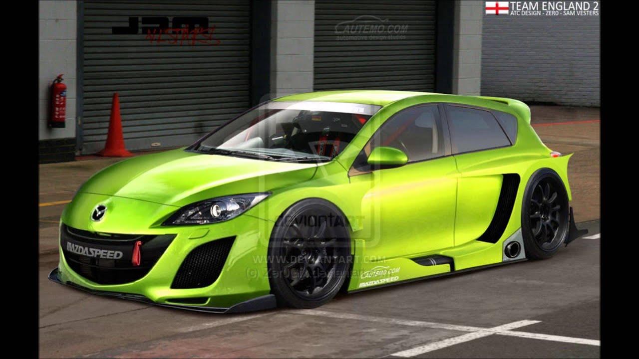 Mazda 3 Hatchback Customized - YouTube