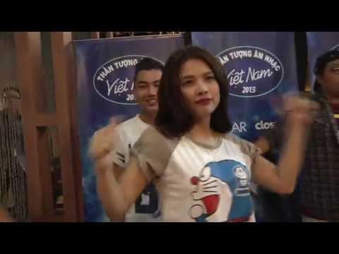 Vietnam Idol 2013 - Top 12 tập luyện vũ đạo