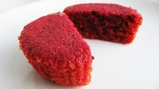 How To Make Natural Red Velvet Cupcakes Without Food