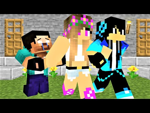 MONSTER SHOOL : HERO RESCUES A PRETTY GIRL PART(IV)- MINECRAFT ANIMATION
