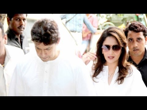 Madhuri Dixit's Father's Funeral