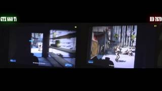 Battlefield 3 GTX 660 Ti Vs HD 7870