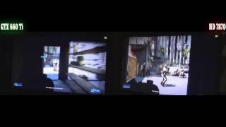 Battlefield 3 GTX 660 Ti Vs HD 7870
