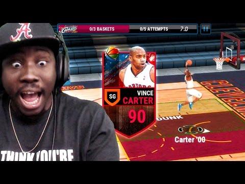 NEW VINCE CARTER DUNKING & BALLIN! NBA Live Mobile 16 Gameplay Ep. 21