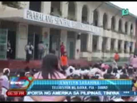 News@6: Mga estudyante at guro sa Davao City, nakiisa rin sa Nationwide Earthquake Drill