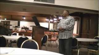 Pastor Larry Austin - Wed Bible Study 11-28-12 - The Preeminence of Christ -- Part 3