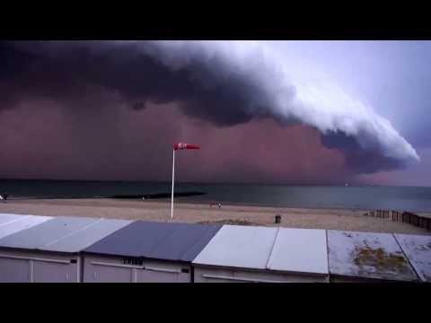 Zastrašujuća oluja u Belgiji 05 08 2013
