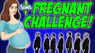 The Sims 3 - A WEDDING PROPOSAL! The Pregnant Challenge #30