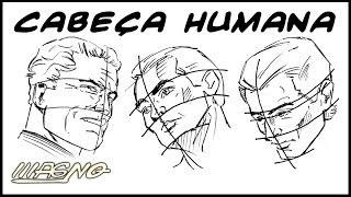 Curso De Desenho: Como Desenhar Rosto (How To Draw Human