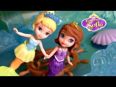 Mermaid Sofia the First and Mermaid Oona Disney Junior Princess Dolls Review by Disneycollector