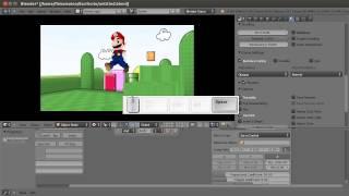 Tutorial 08: Jumping. Blender Game Engine.