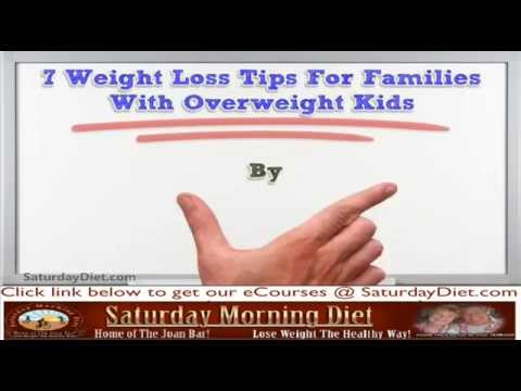 7 Weight Loss Tips For Families With Overweight Kids
