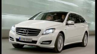 Mercedes R-Klasse/R-class new 2011 videos