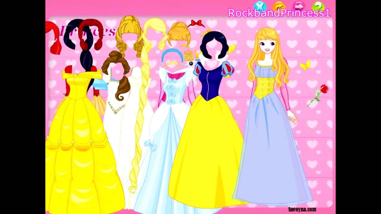 Disney Games... First Night Dress Up Games