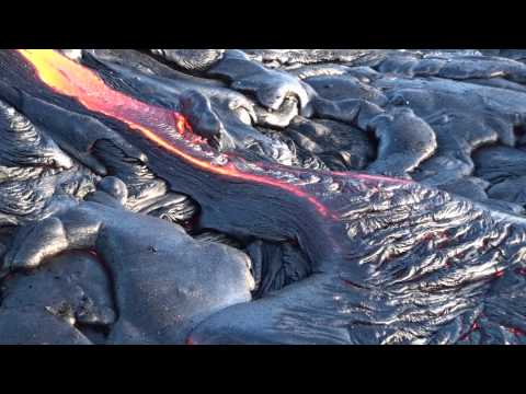 Molten Lava HD - Filmed in Hawaii 2011