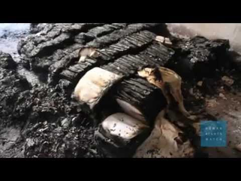 human rights watch:documentary about burning Churches in upper Egypt by terrorists brotherhood