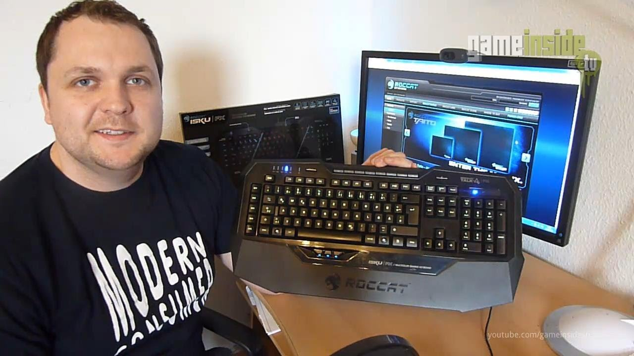 ROCCAT Isku FX Multicolor Gaming Keyboard Review ...