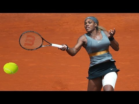 [In HD]-Serena Williams Vs.Carla Suarez Navarro *Mutua Madrid Open Highlights*2014