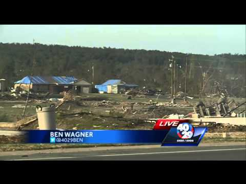 FEMA helps tornado victims