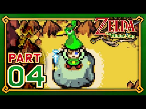 zelda minish cap how to get to mt crenel