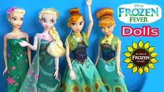 Queen Elsa FROZEN FEVER Princess Anna Disney Store